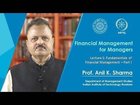Lecture 1  Fundamentals of Financial Management – Part 1
