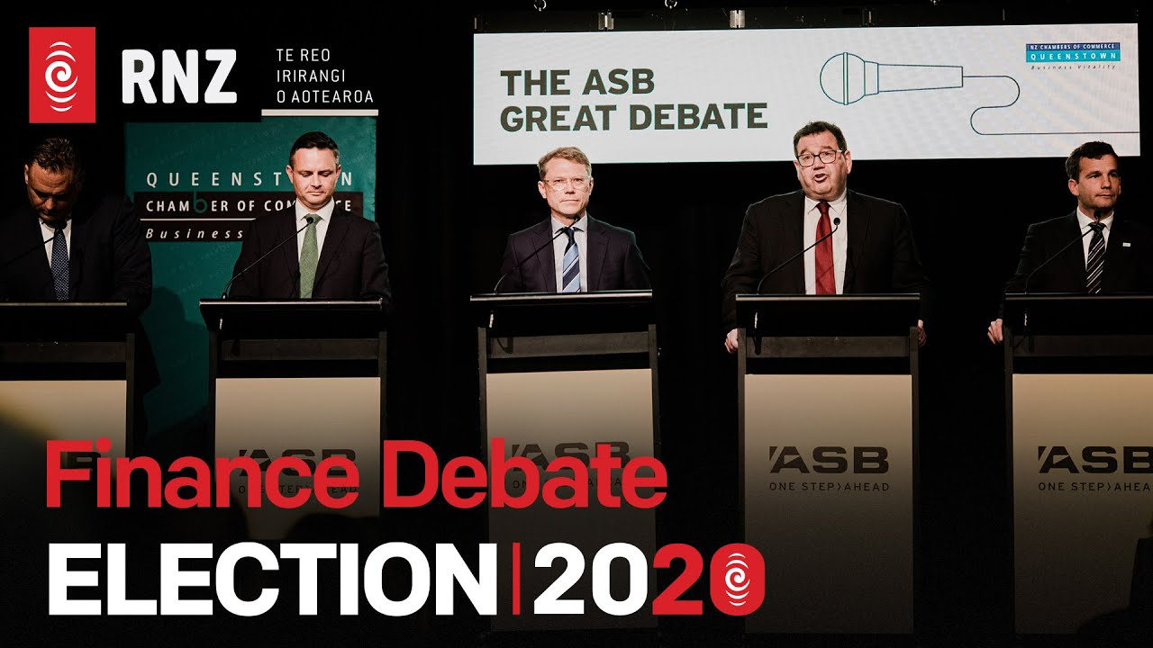 ELECTION 2020 | Finance Debate | David Seymour 'standout performer' | RNZ